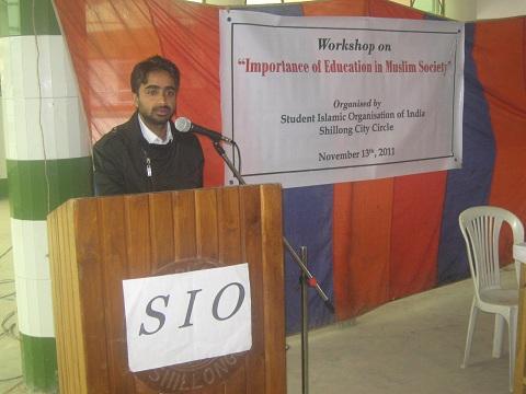 """Importance of Education in Muslim Society"" | Workshop in Meghalaya"