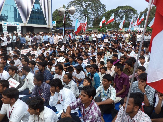 Karnataka Zone conducted a rally for Unity and Peace