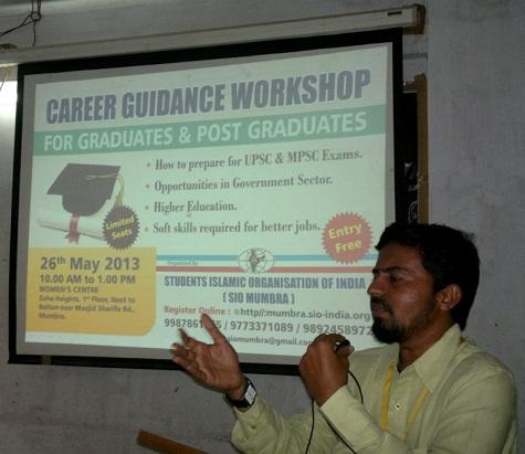Career Guidance Workshop for Graduates & Post-Graduates by SIO Mumbra
