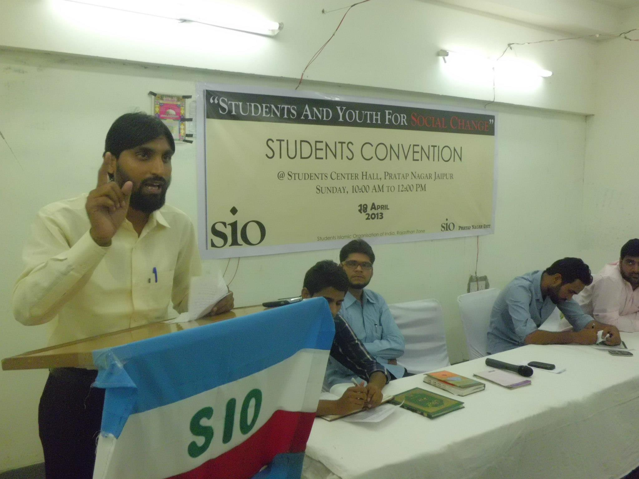 Students for Social change – Convention in Jaipur