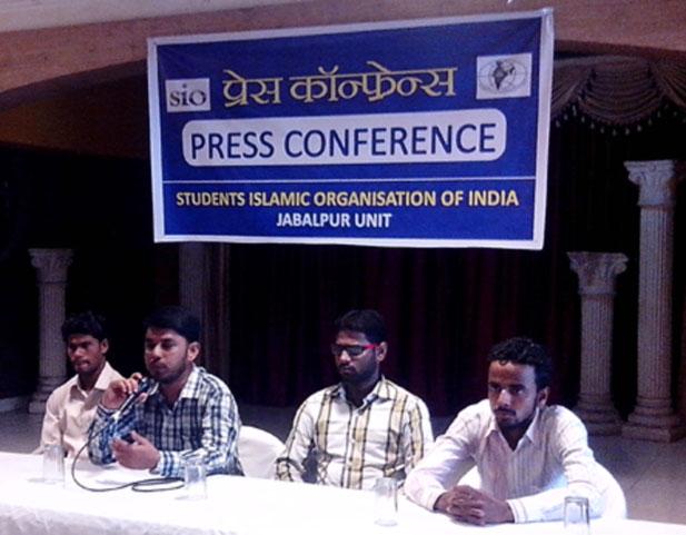 SIO Jabalpur organized Press conference successfully