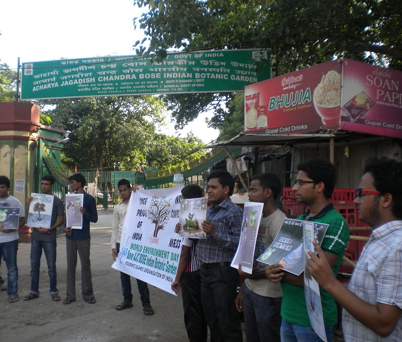 SIO West Bengal's awareness program on World Environment day.