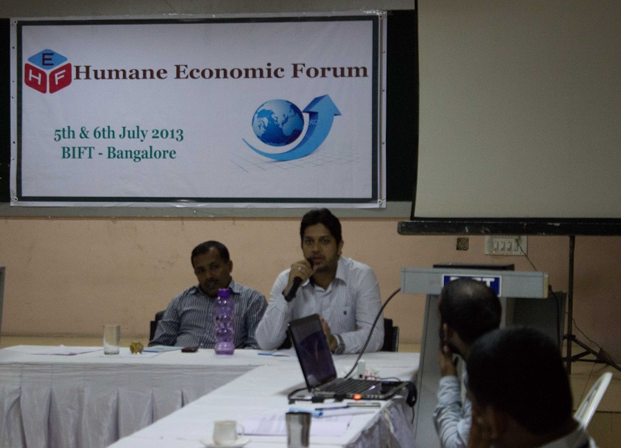 Humane Economic Forum's National Workshop in Bangalore National President SIO