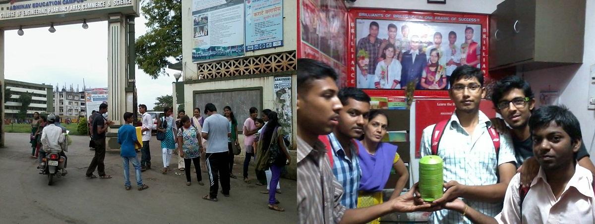 SIO Mumbai initiative - Students raise funds for Uttarakhand