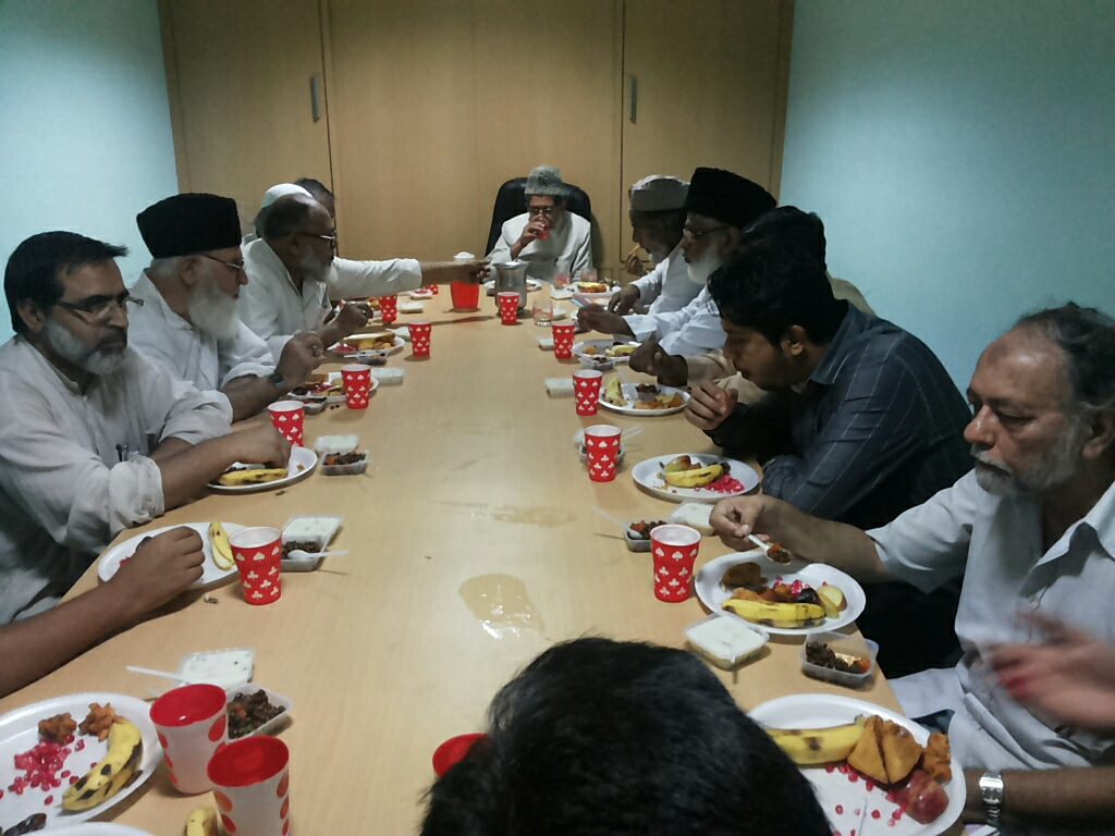 SIO headquarter interacts with JIH leadership in Iftar Get-together