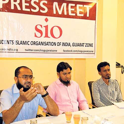 Minority Pre Metric Scholarship SIO Gujrat Zone Press Meet
