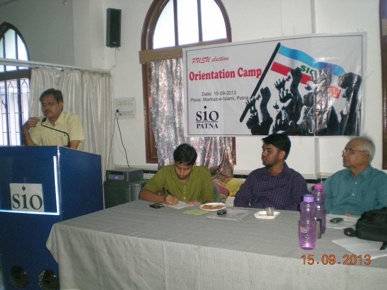 PUSU Election Orientation Camp by SIO Bihar