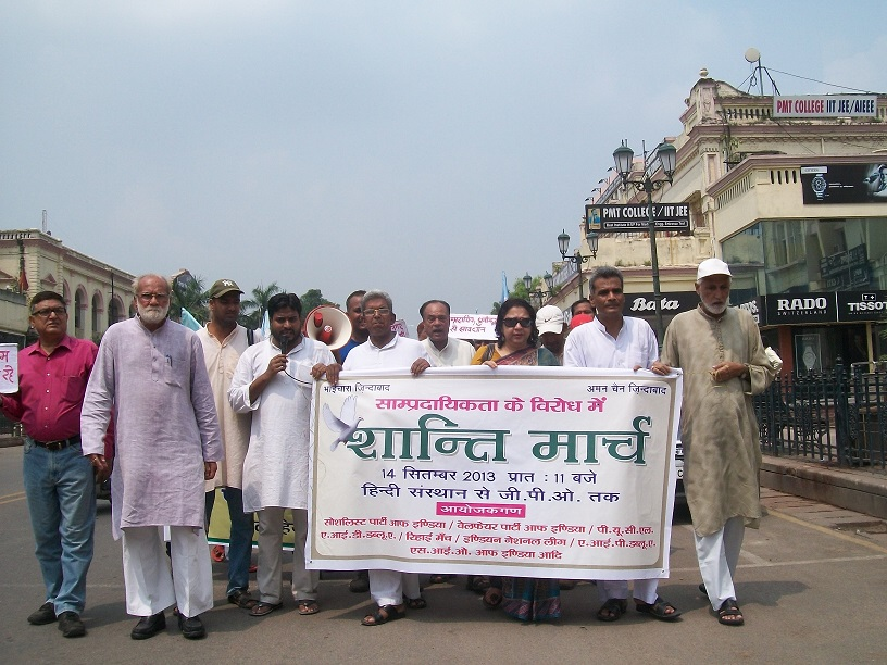 Peace March SIO Lucknow UP Central Zone