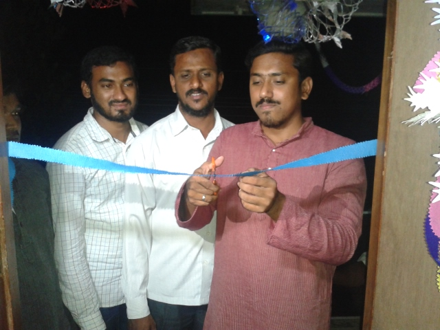Students Center inaugurated at Thirumangalakudi  Tamilnadu