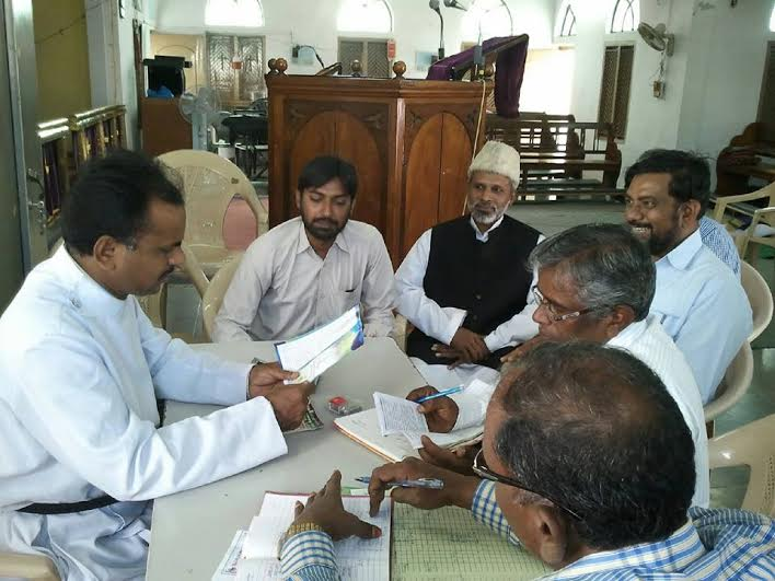Delegation of SIO Chintal meets Pastor and discusses about Islam