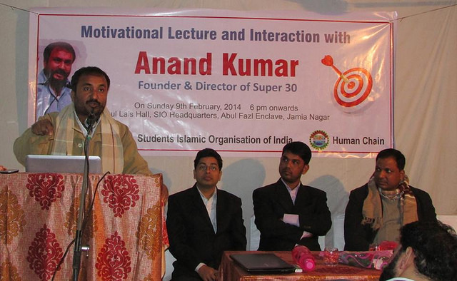 Super 30 fame Anand Kumar praises educated Muslims