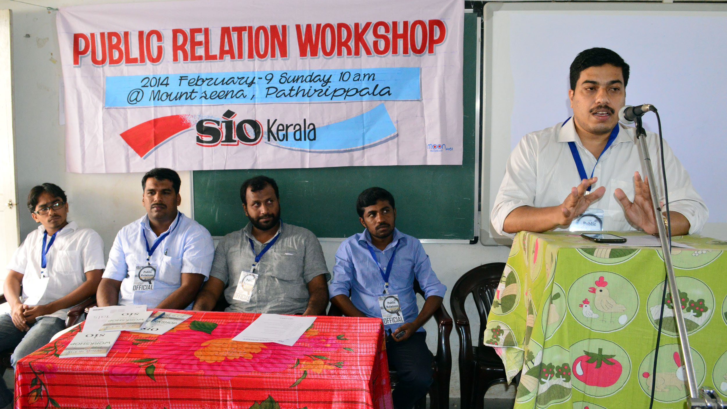 Workshop on Public relations conducted by SIO Kerala