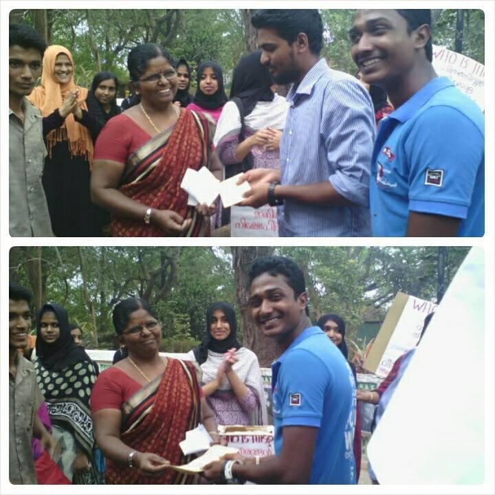"International women's day ""photo contest""  program at kerala campus"