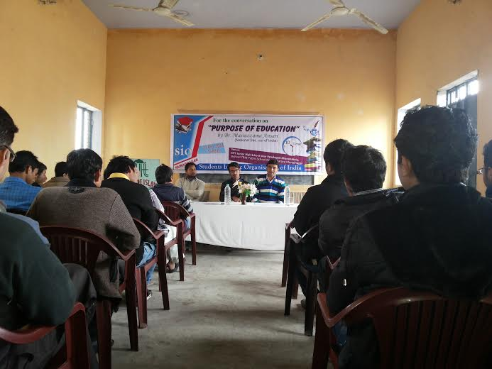 Seminar on Purpose of Education by SIO UP West