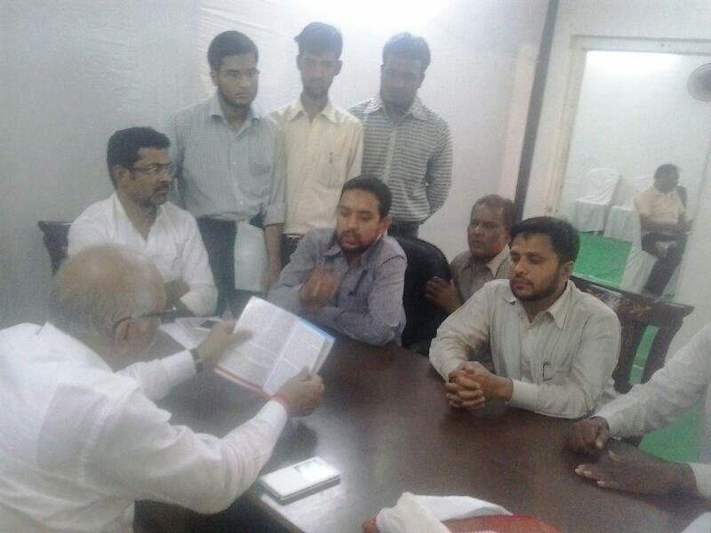 SIO Maharashtra North delegation meets MP Vilas Mettemwar