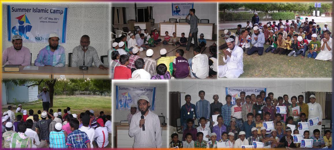 SIO Gujarat's Summer Islamic Camp for children