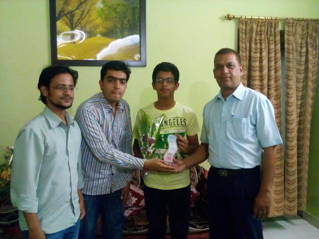 SIO Nagpur felicitates Vidarbha CBSE Topper