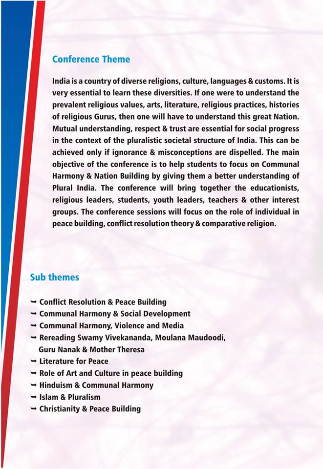 Education for peace and harmony essay - …
