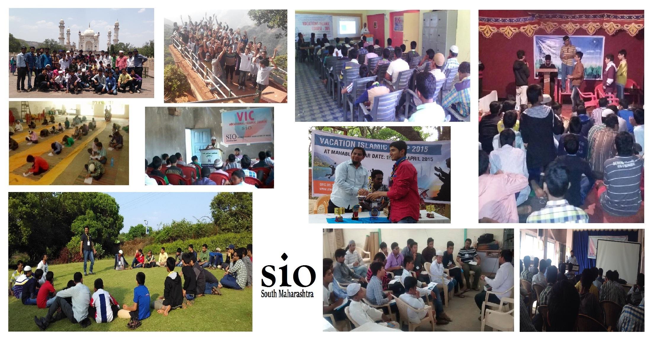 Vacation Islamic Camp held all over the Maharashtra South zone