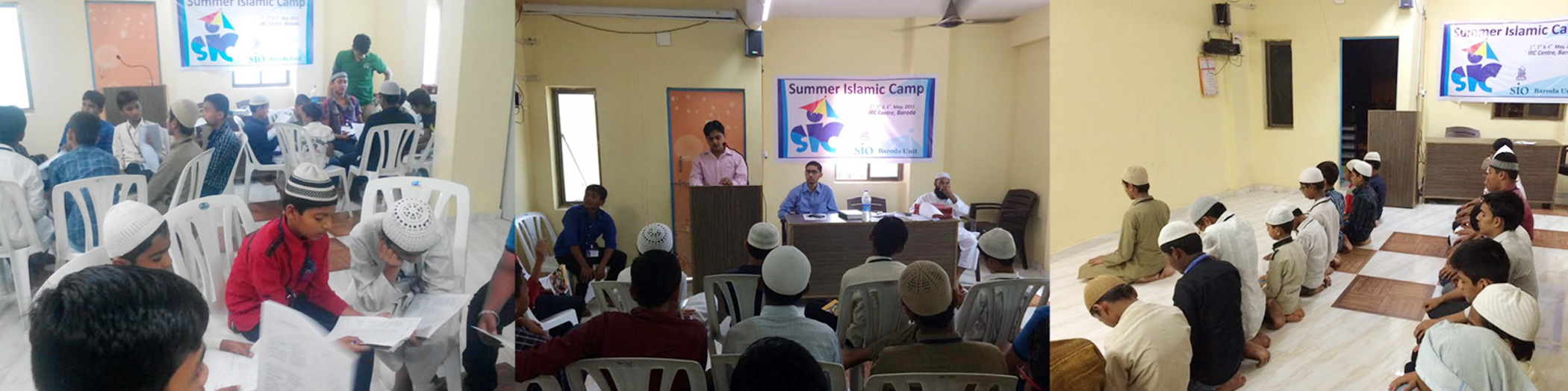 Summer Camp organised by SIO Gujarat