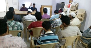 Campus orientation program by SIO Hyderabad