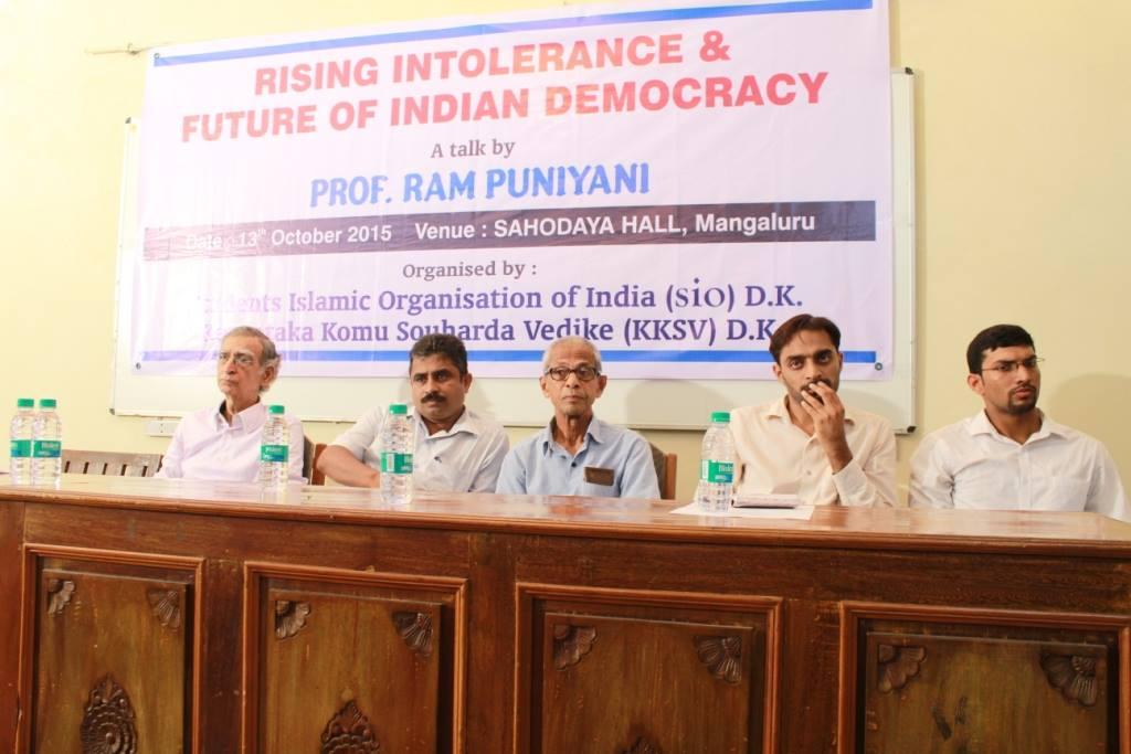 Rising intolerance & Future of Indian Democracy
