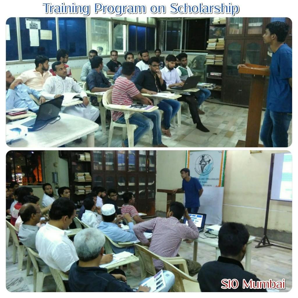 Education Scholarship Training Program by SIO Mumbai