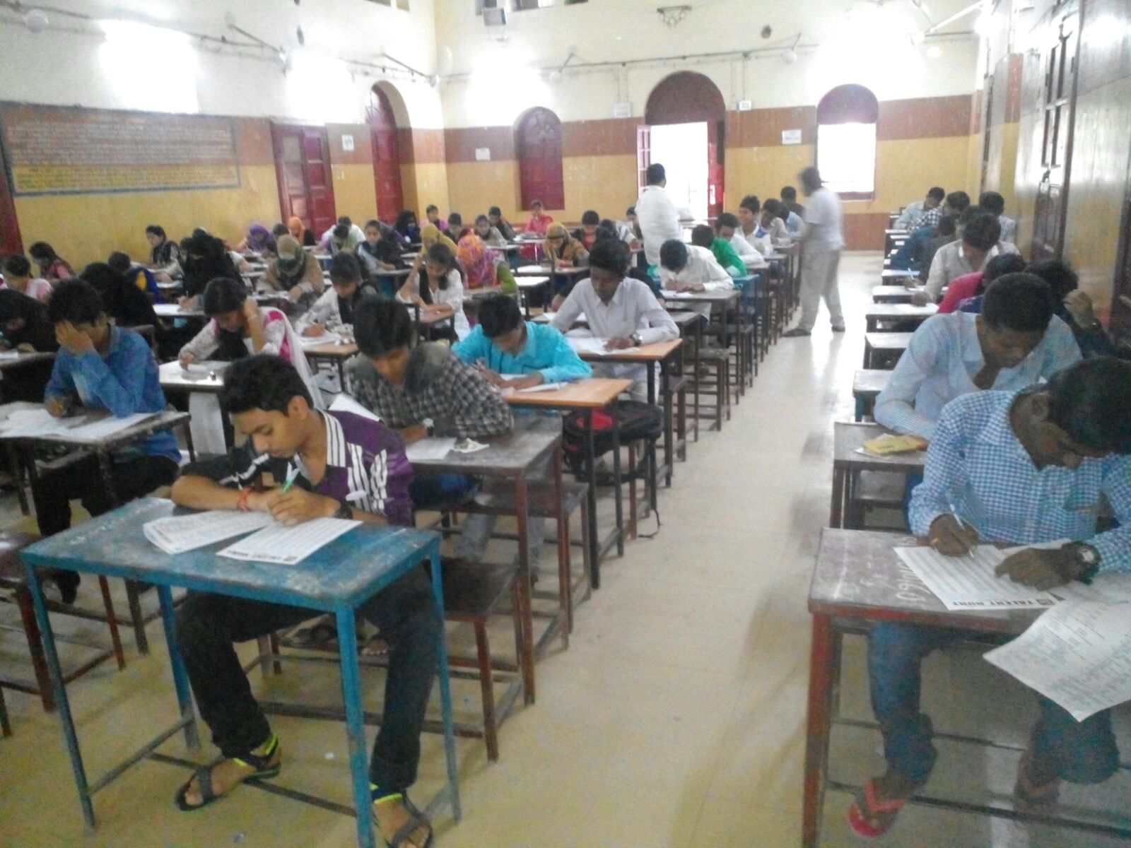 Talent hunt at examination by SIO Chattisgarh