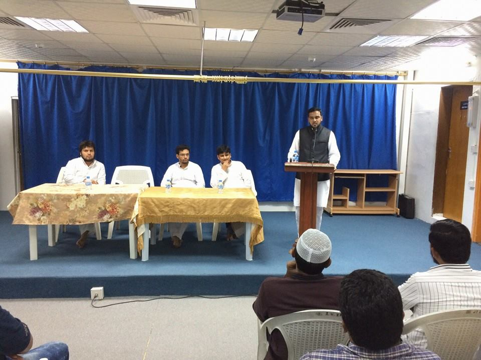 National President sermonize with Youths of Indian Islamic Circle in Qatar