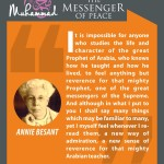 Muhammed-the messenger of peace - ANNIE BESANT