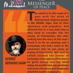 Muhammed-the messenger of peace - GEORGE BERNARD SHAW 2