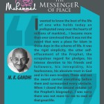 Muhammed-the messenger of peace - M.K. Gandhi