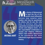 Muhammed-the messenger of peace - MICHAEL HART