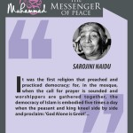 Muhammed-the messenger of peace - SAROJINI NAIDU