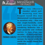 Muhammed-the messenger of peace - THOMAS CARLYLE