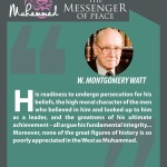 Muhammed-the messenger of peace - W. MONTGOMERY WATT