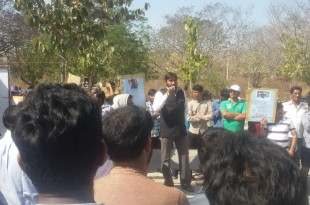 SIO Join Protest over the Murder of HCU Scholar by University Administration and So called Govt.