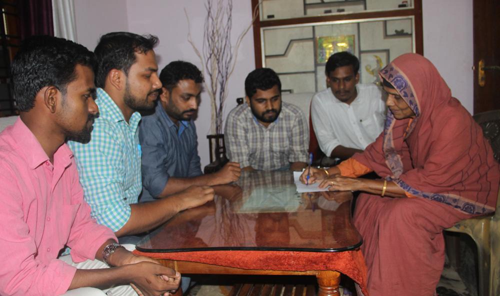 Najeeb: SIO will conduct signature campaign