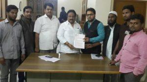 Layeeq Ahmed Khan Zonal President demanding MP Jitendar reddy justice4Najeeb