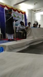 Ameere Halqa Jb. Hamed Mohammed Khan sb. addressing in policy program explanation meet