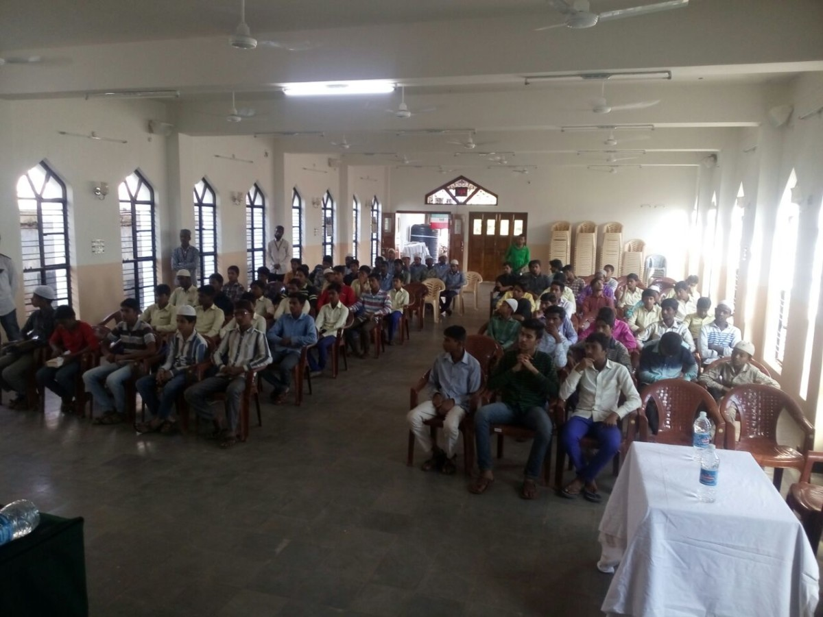 SIO Zaheerabad Organised Massive Students meet.