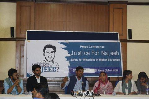 Press Conference at Press Club of India, New Delhi.