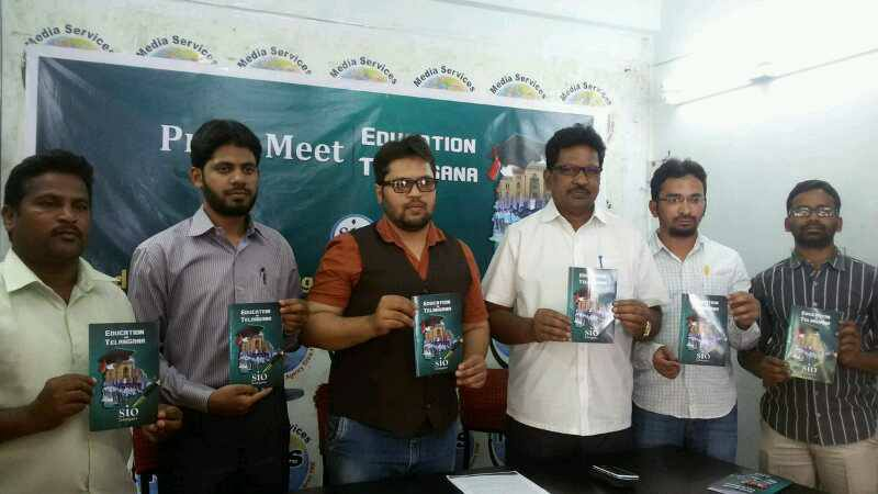 Education In Telangana – Book released by SIO Telangana.