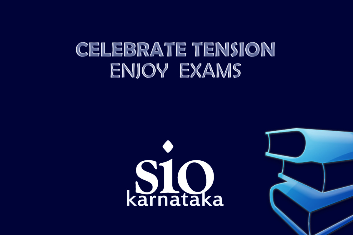 """Celebrate Tension Enjoy Exams"" videos by SIO Karnataka"