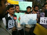 Justice for Rohith Vemula – Protest at HCU