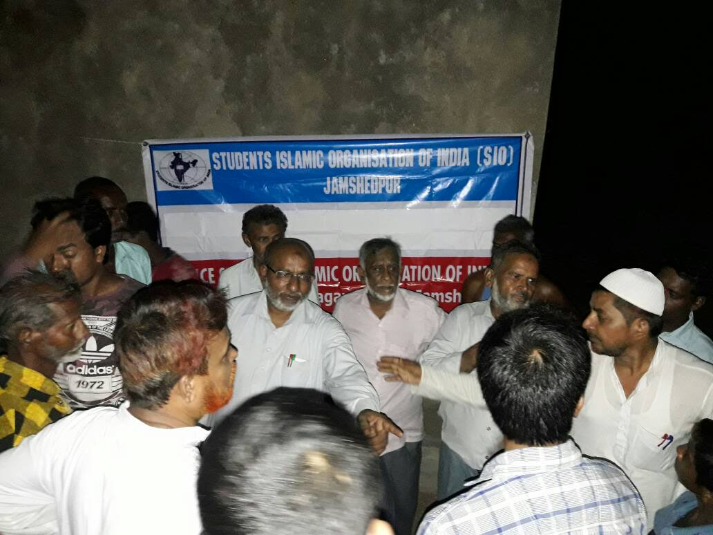 Relief Work By SIO Jamshedpur