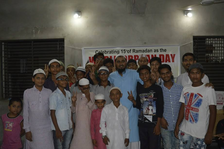 A Day at Orphanage on World Orphans Day