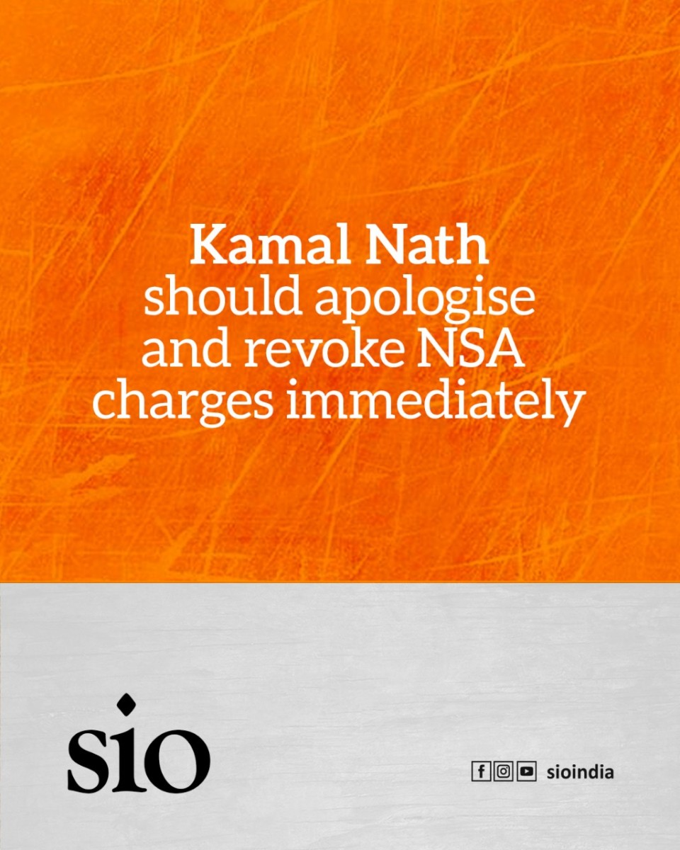Kamal Nath should apologise and revoke NSA charges immediately – Labeed Shafi