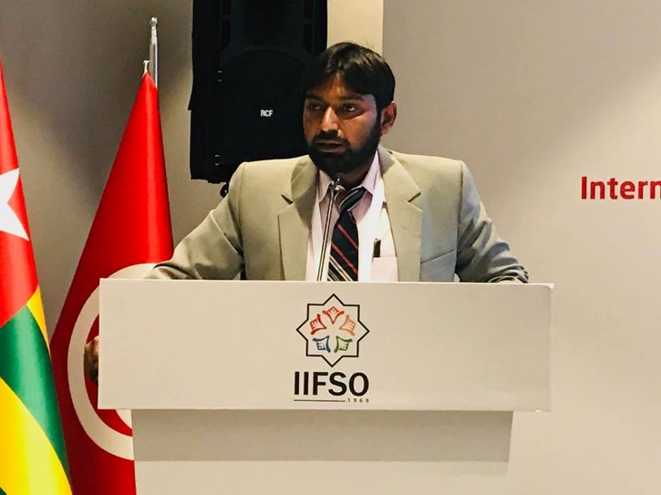 Syed Azharuddin (General Secretary, SIO of India) appointed as Executive Committee member of IIFSO