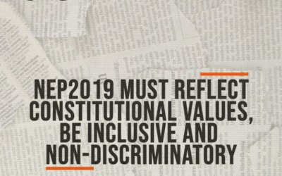 SIO DEMANDS NEP 2019 MUST REFLECT CONSTITUTIONAL VALUES, BE INCLUSIVE AND NON-DISCRIMINATORY